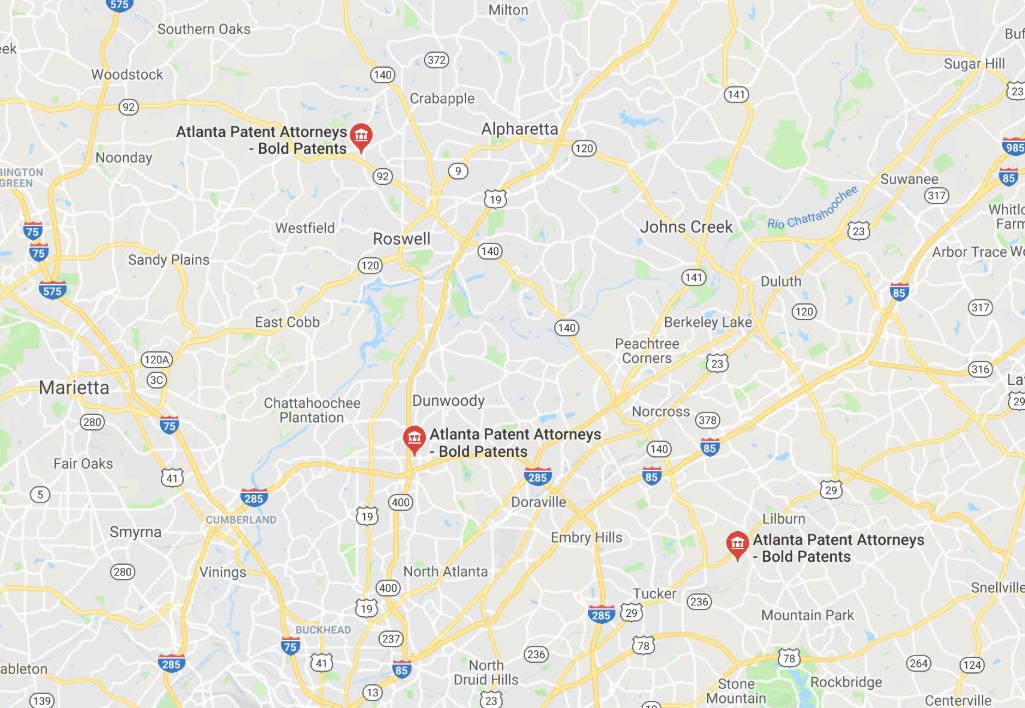 Atlanta bold patents offices