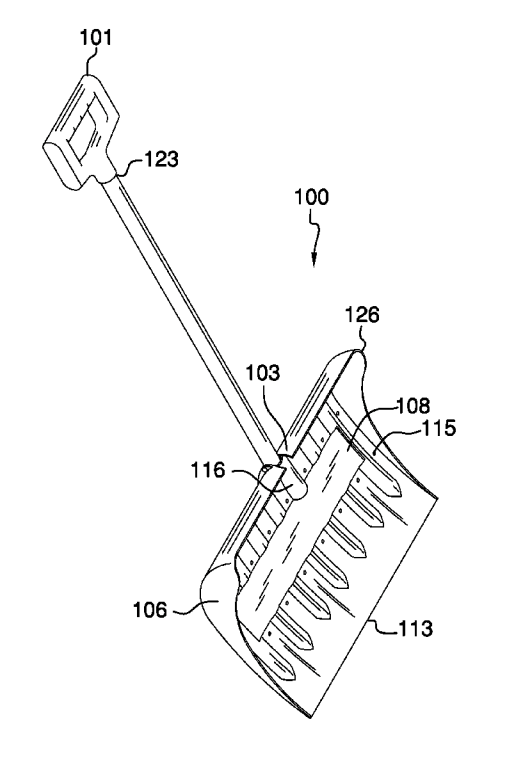 Shovel Invention Filing for a Patent