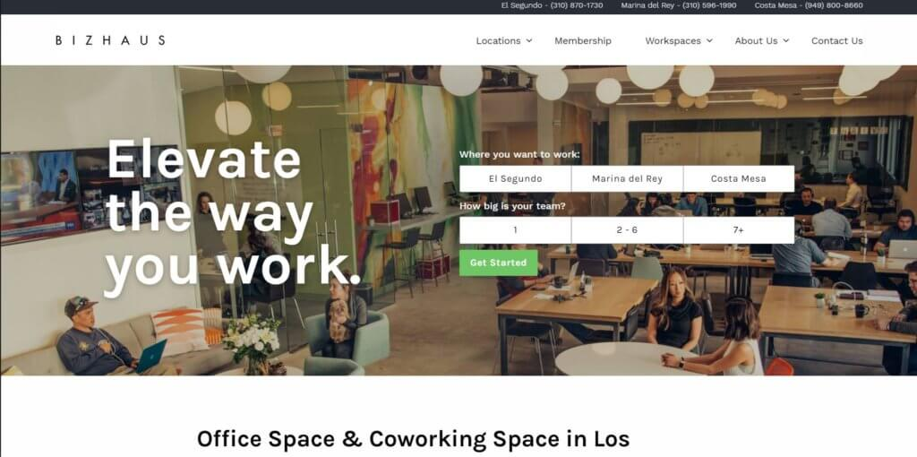 Bizhaus Los Angeles Coworking Space