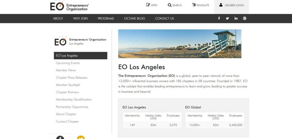 EO Los Angeles Group Bold Patents Resources