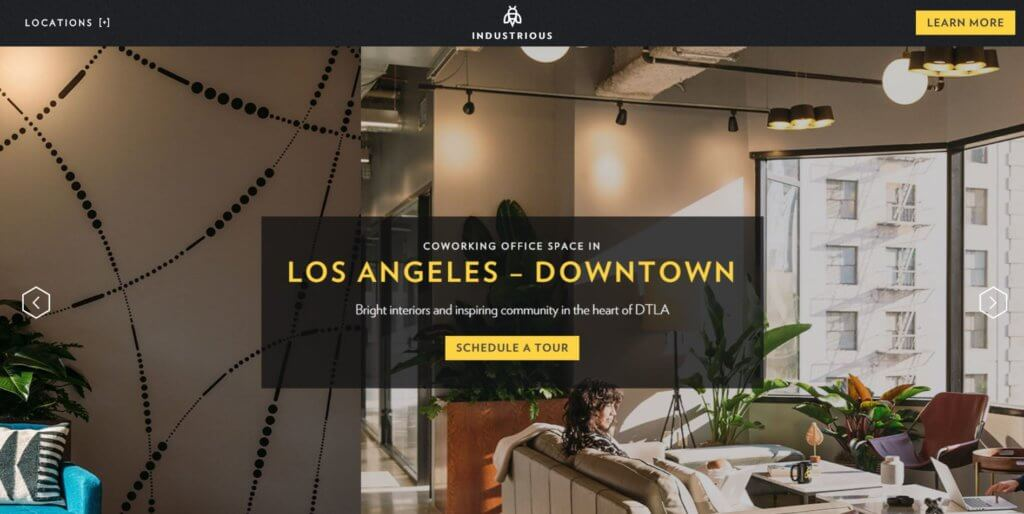 Industrious Los Angeles Coworking Space