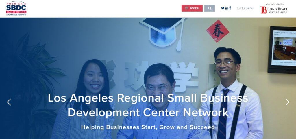 Los Angeles Small Business District Network Bold Patents Resources