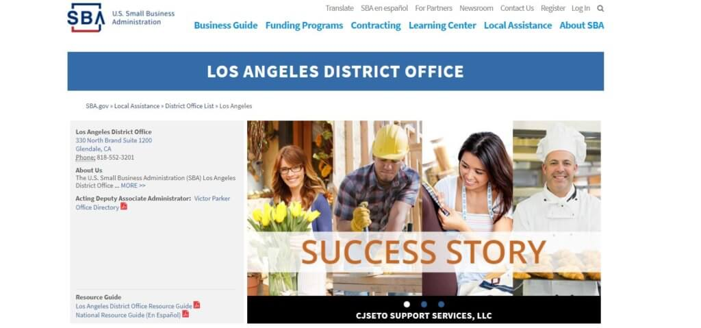 Los Angeles District Office Bold Patents Resources