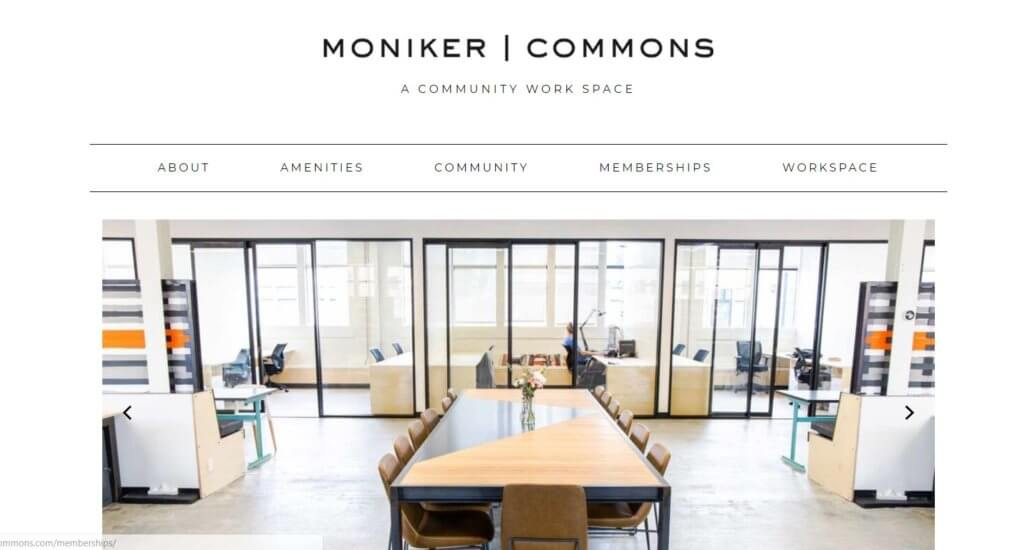 Moniker Commons Coworking Space San Diego