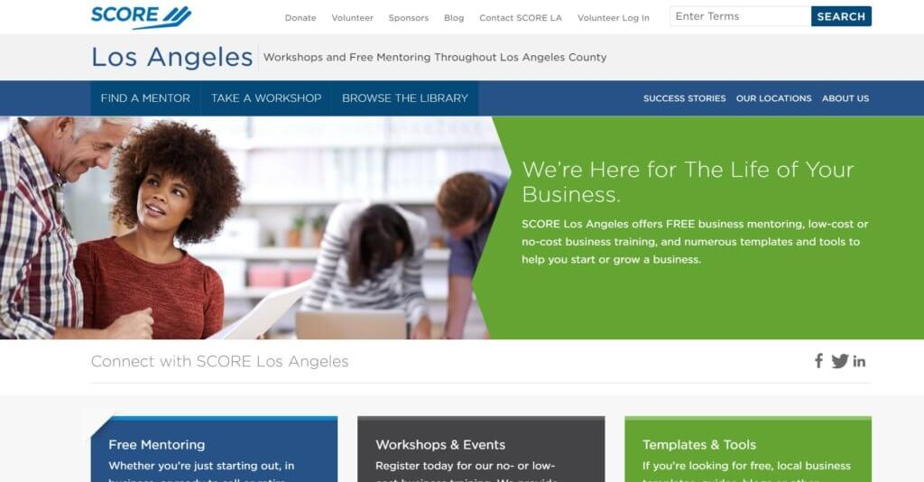 SCORE Los Angeles Bold Patents Resources