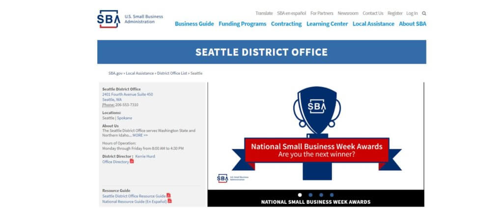 Seattle District Office Bold Patents Resources