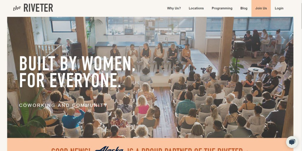 The Riveter Seattle Female Coworking Space