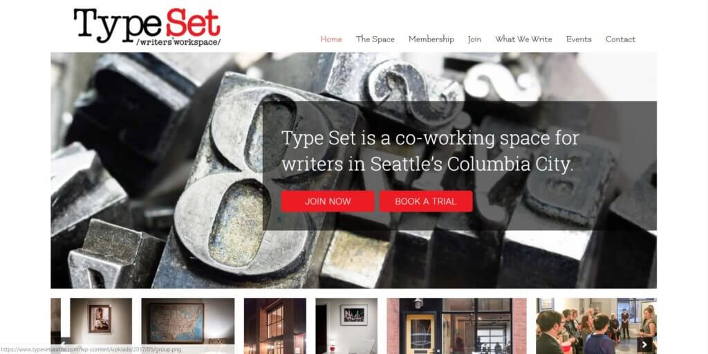 TypeSet Seattle Coworking Space
