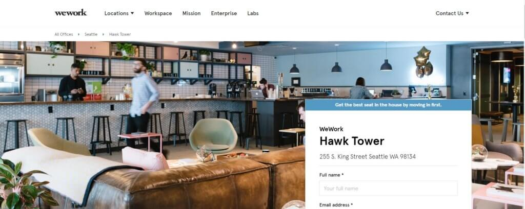 WeWork Seattle Coworking Space