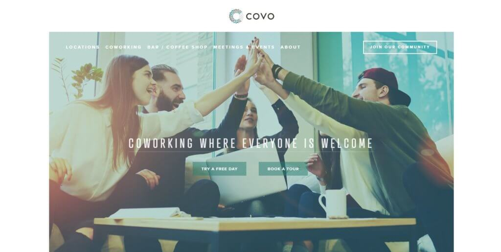 Covo Bold Patents Coworking Spaces in San Francisco