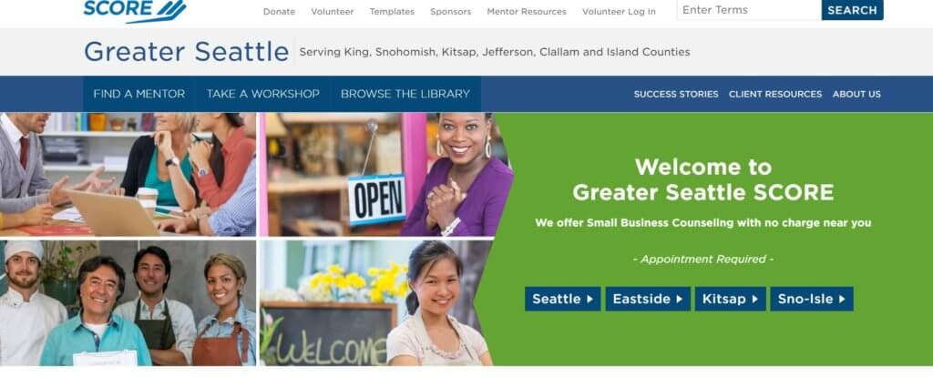 SCORE Greater Seattle Bold Patents Resources