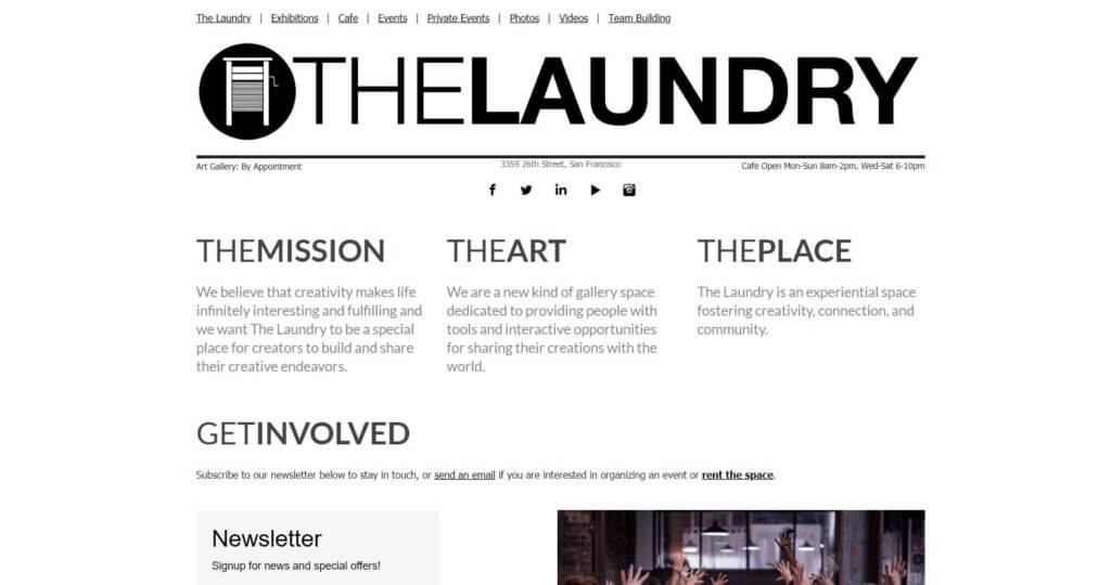 The Laundry Bold Patents Coworking Spaces in San Francisco