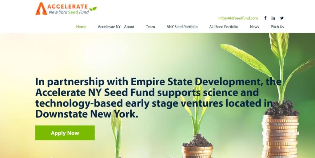 Accelerate New York Seed Fund Top 23 Resources for Entrepreuers and Inventors in New York Bold Patents