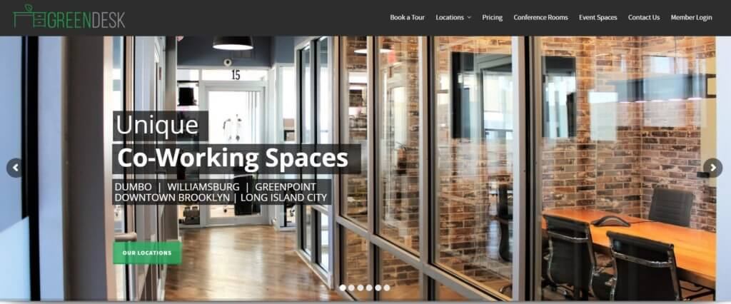 Greendesk Top 17 Coworking Spaces in New York City Bold Patents Website