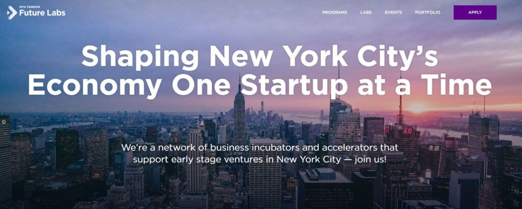 NYU Tandon Future Labs Top 23 Resources for Entrepreneurs and Inventors in New York Bold Patents