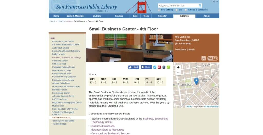 San Francisco Public Library Bold Patents Inventor and Entrepreneur Resources in San Francisco