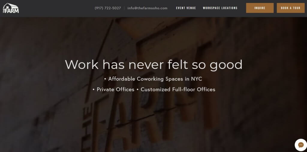 The Farm Top 17 Coworking Spaces in New York Bold Patents Website