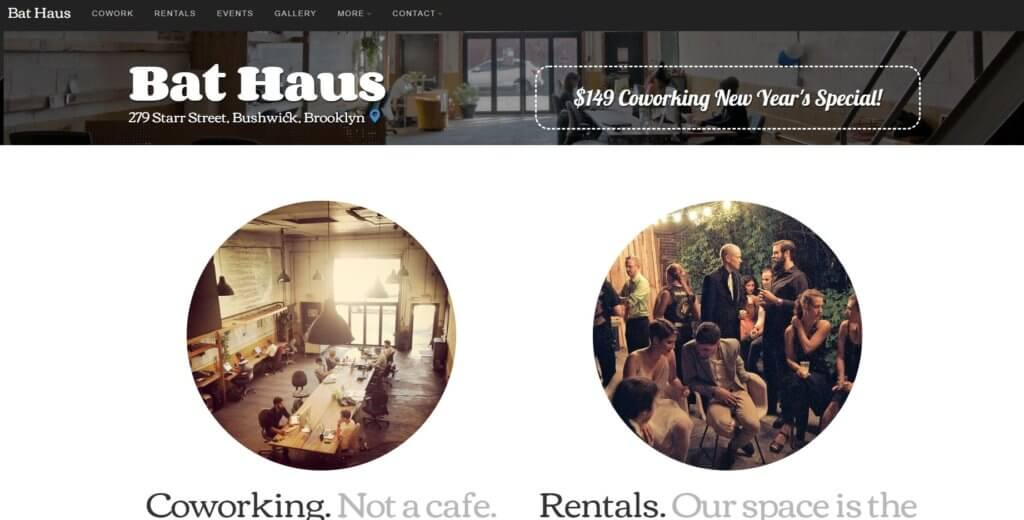Bold Patents Top 17 Affordable Coworking Spaces in New York City Bat Haus