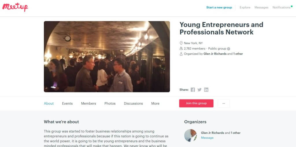 Young Entrepreneurs and Professional Network Group Top 23 Resources for Entrepreneurs and Inventors in New York Bold Patents