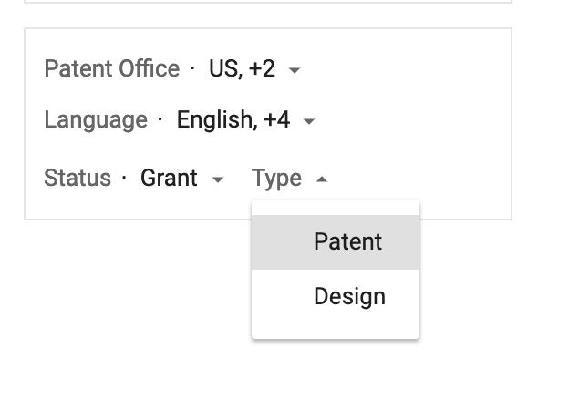 google image search patent design