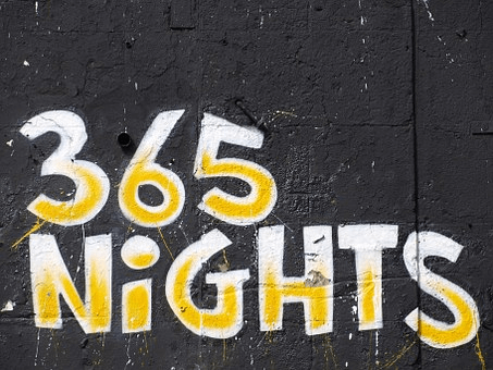 365 nights graffiti