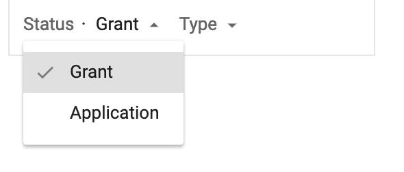 google patent search grant vs application