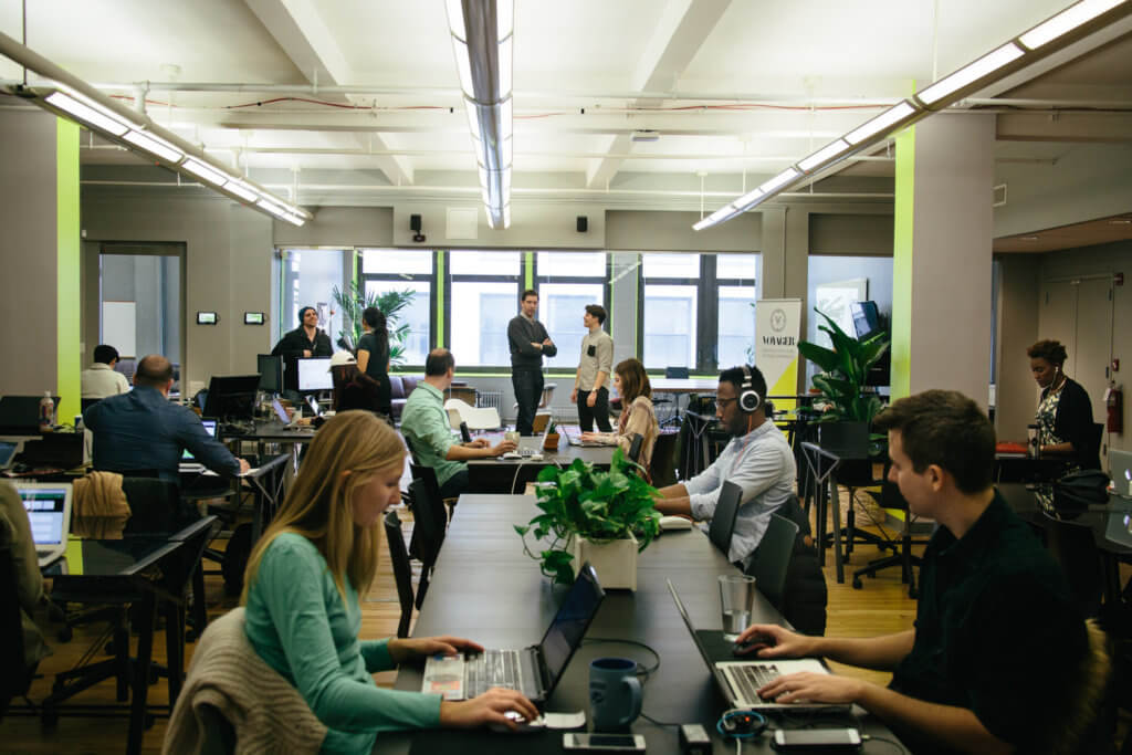 Voyager HQ Top 17 Coworking Spaces in New York City Bold Patents Office Space