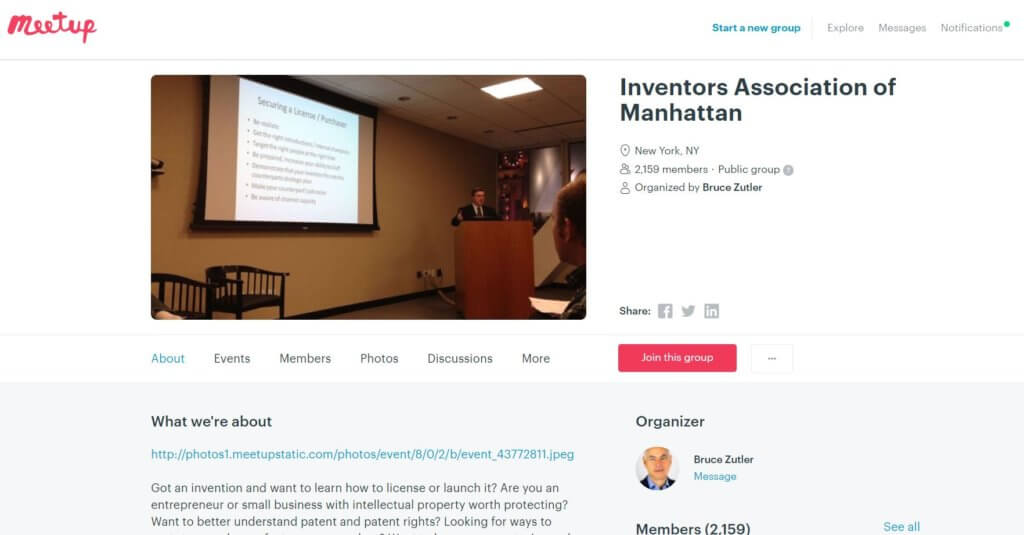 Inventors Association of Manhatten Top 23 Resources for Inventors and Entrepreneurs in New York Bold Patents