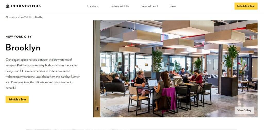 Industrious-Brooklyn-Coworking-Space-Bold-Patents-Website