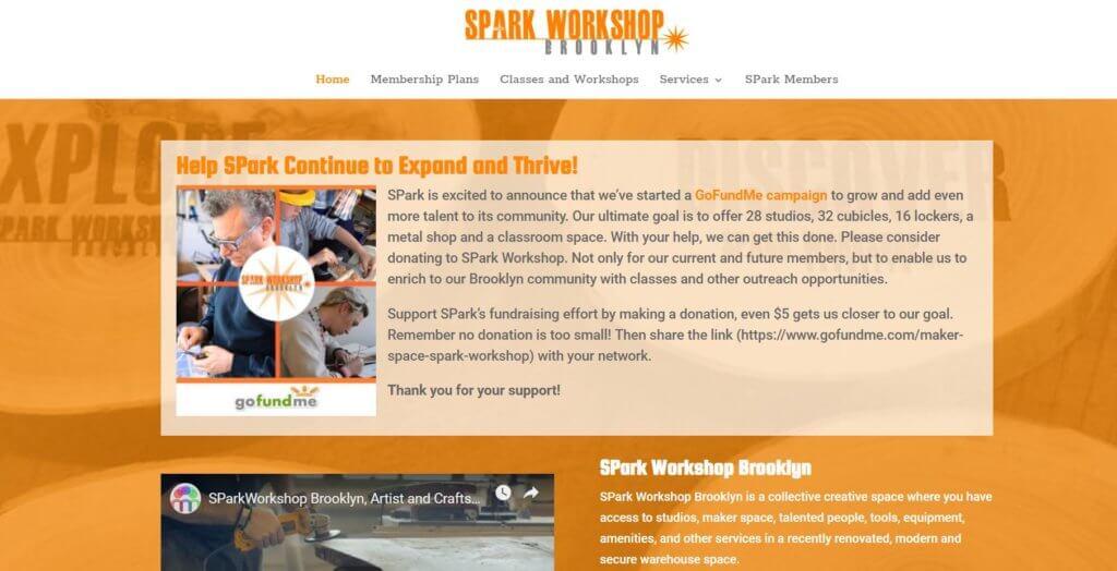 Spark-Workshop-Brooklyn-Bold-Patents-Coworking-Website