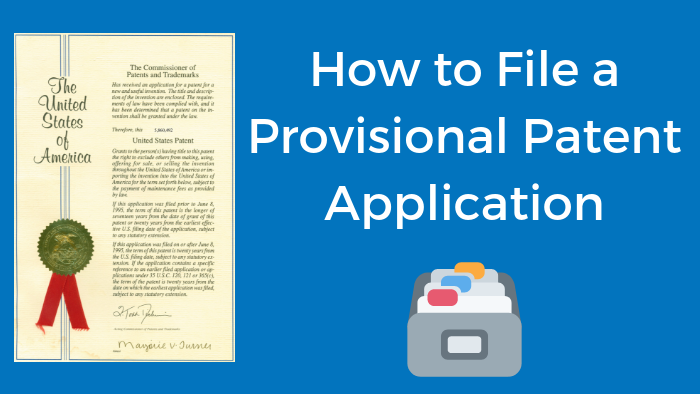 How to file a provisional patent application