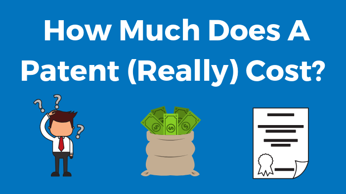 how much does a a patent cost