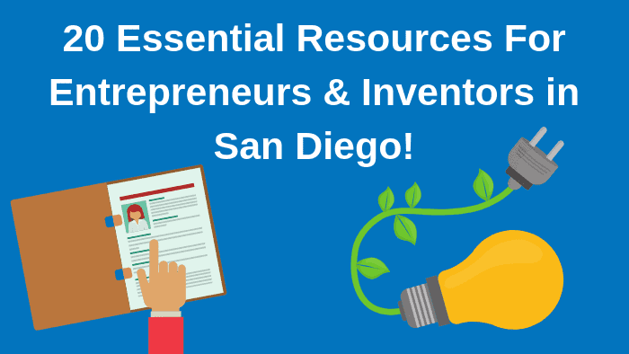resources of entrepreneurs in san Diego
