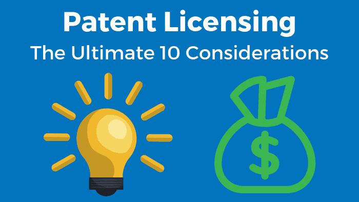 steps to patent a license