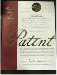 Receiving your physical, ribbon wrapped patent is a rewarding experience for any inventor