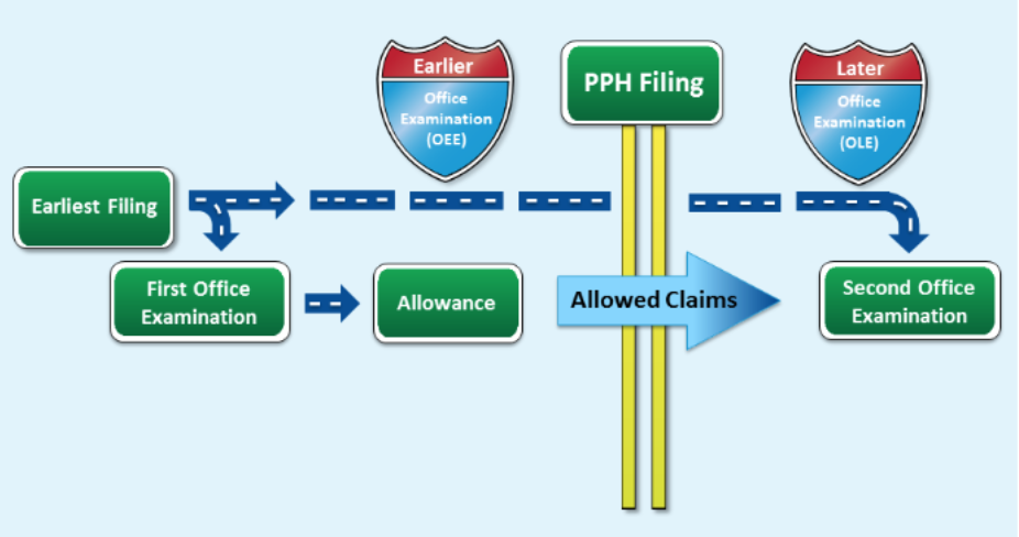 The flowchart for the PPH program