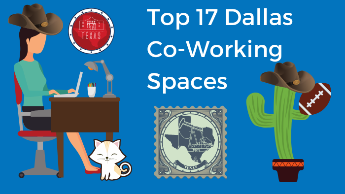 Top 17 Co-working Spaces in Dallas According to Bold Patents Image of Woman at Desk wearing a Cowboy Hat