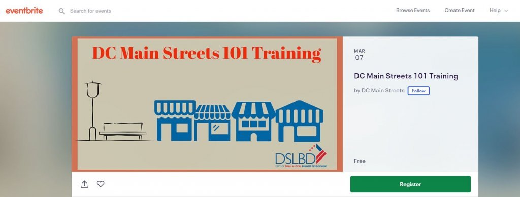 Top 23 Resources for Inventors and Entrepreneurs in Washington DC according to Bold Patents DC Main Streets 101 Training eventbrite page
