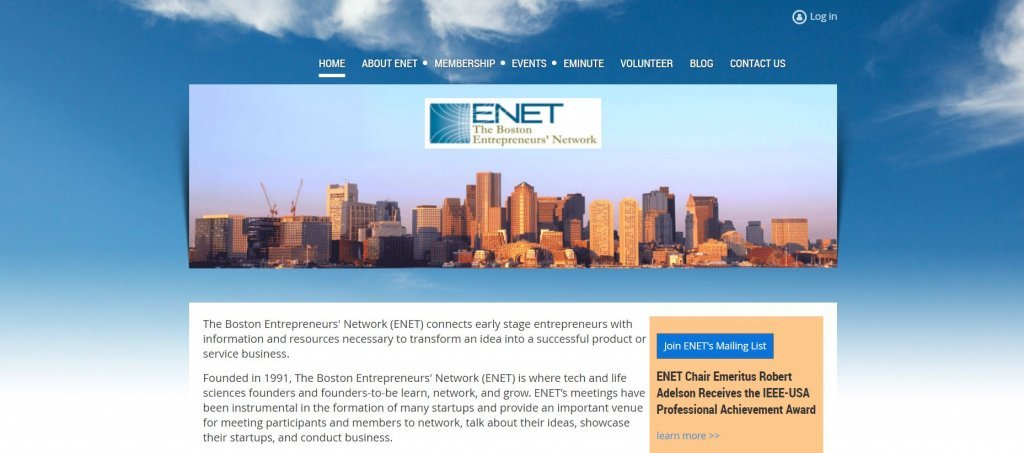 Top 23 Resources for Inventors and Entrepreneurs in Boston ENET Group website found on Bold Patents website