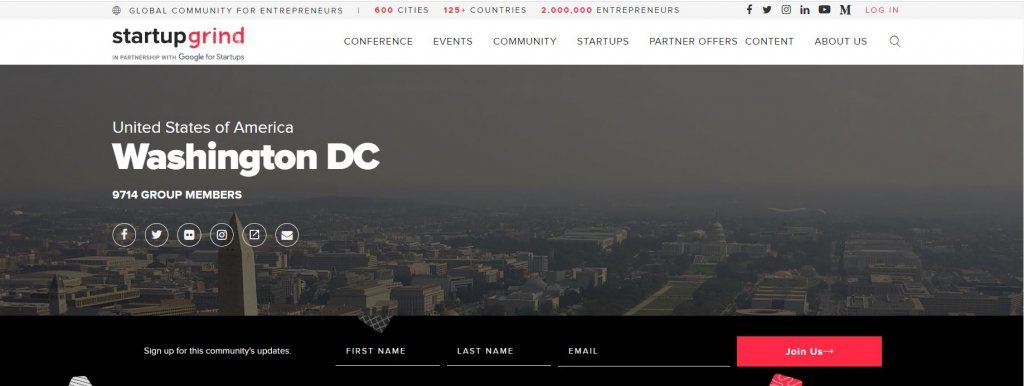 Top 23 Resources for Inventors and Entrepreneurs in Washington DC  according to Bold Patents Startup Grind DC Website