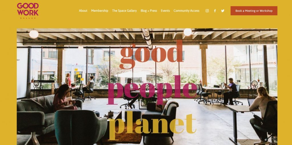 GoodWork Dallas Coworking from Bold Patents Top 17 Coworking Spaces in Dallas website