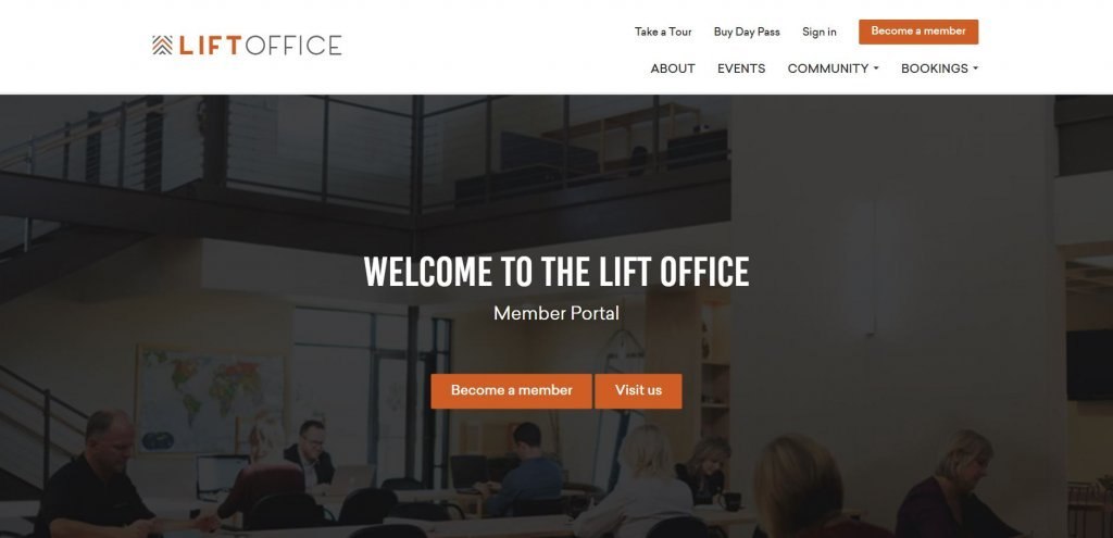 LIFT Office Coworking from Bold Patents Top 17 Coworking Spaces in Dallas website