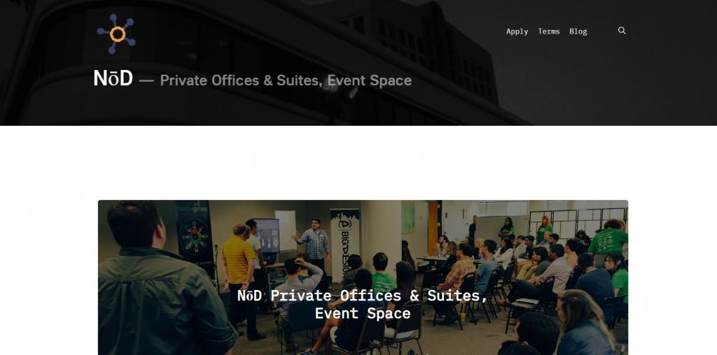 NoD Tech Coworking from Bold Patents Top 17 Coworking Spaces in Dallas website