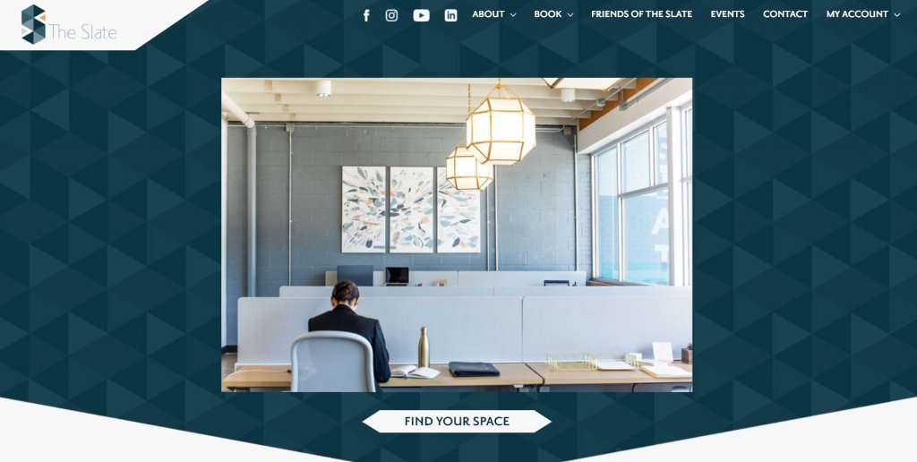 The Slate Coworking from Bold Patents Top 17 Coworking Spaces in Dallas website