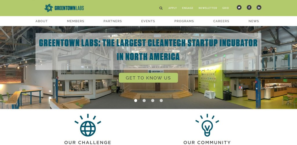 Top 23 Resources for Inventors and Entrepreneurs in Boston Greentown Labs Incubator website found on Bold Patents website