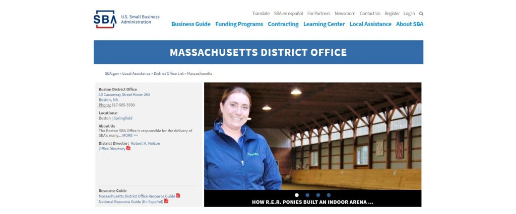 Top 23 Resources for Inventors and Entrepreneurs in Boston U.S. Small Business Administration in Massachusetts website found on Bold Patents website