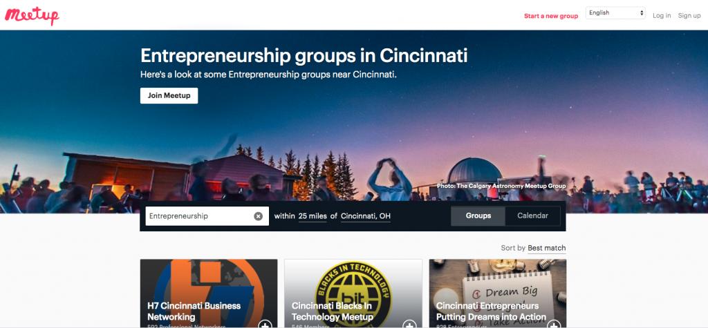Meetup, Cincinnati 13 Essential Resources For Entrepreneurs and Inventors in Cincinnati