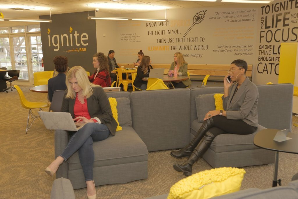 ignite Sparked by BBB Top 12 Scottsdale Coworking Spaces