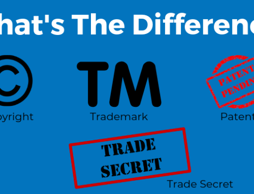 What's the Difference Between Patents, Trademarks, Copyrights, and Trade Secrets?