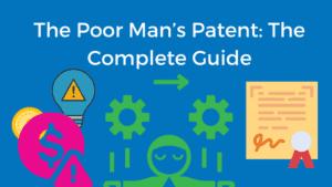 poor mans' patent